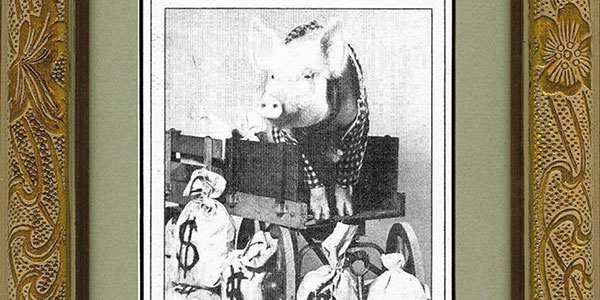 """Arnold """"The Pig"""" Ziffel"""