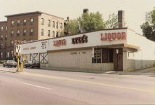Site of Frank Crowell House, 1890 2019 Colfax Ave. South Minneapolis, Minnesota TORN DOWN 1956 Today the site of Lyle's Liquors Snapshot: LYLE'S Liquors Sept 8, 1987 by CDT