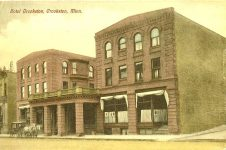 Crookston Hotel Crookston, MINNESOTA Postcard Printed in Germany postmarked Nov 20 1909 (CDT Collection)