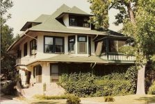 John S McLain House, 1893 1710 Dupont Avenue South Minneapolis, MINNESOTA Architect: Orff & Joralemon Cost: $6,000 STANDING (Stuccoed) Snapshot: Sept 2, 1987 by CDT