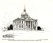 Bayfield County Court House, 1894 117 East 5th Street Washburn, WISCONSIN Architect: Orff & Joralemon ACCEPTED Competition Design for Bayfield County Court House Arch Builder & Decorator Vol 8 No 8 August 1894 YES on NRHP Pen & Ink Drawing: Albert Levering del Arch Builder & Decorator Vol 8 No 8 August 1894 (MN His Soc)