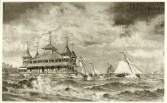 Lake Minnetonka, MN?, 1890 Lakeside Pavilion Architect: LS Buffington Rendering: signed by EE Joralemon, del (lower left) (NW Arch Archives) ?Built ?