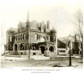 Fred C Pillsbury House, 1888 303 South 10th Street Minneapolis, MINNESOTA Architect: LS Buffington TORN DOWN Photo: Northwestern Architect Vol 8 No 3