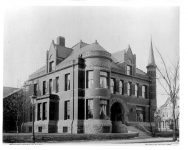 Fred C Pillsbury House, 1888 303 South 10th Street Minneapolis, MINNESOTA Architect: LS Buffington TORN DOWN Photo: side view