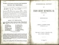 Key of Reports Commercial Report of UNION CREDIT REPORTING CO Of Minneapolis 1894 (Mpls Library History Collection)