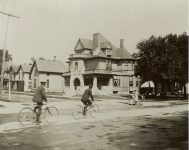 Dr. Henry Elmer Holmes House, 1887Stereoview: by Harry G. Carter Mpls ca. 1890 from Lambert Holmes (CDT Collection)