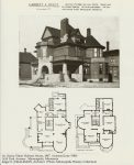 Dr. Henry Elmer Holmes House, 1887Photo/plans: Orff & Joralemon office brochure (in Mpls History Collection)