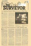 "The Surveyor newspaper July 1988 page 1 ""Fire destroys historic Holmes House in Elliot Park"""