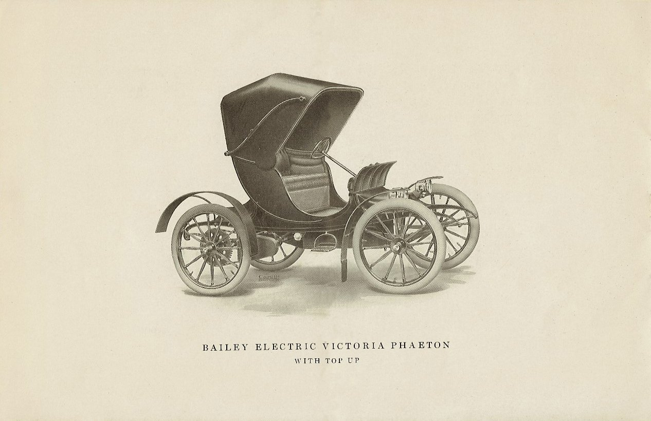 1909 The BAILEY ELECTRIC VEHICLES S R Bailey & Company, Inc Amesbury, MASS Folded: 8.75″x5.75″ page 6