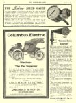 1906 12 12 COLUMBUS Electric Car Stanhope The Car Superior The Columbus Buggy Co Columbus, OHIO THE HORSELESS AGE December 12, 1906 8.5″x11.5″ page XXIV
