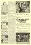 1909 COLUMBUS Electric Anyone Can Drive It The Columbus Buggy Co Columbus, OHIO COLLIER'S December 25, 1909 10″x14.25″ page 18