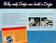 1939 DODGE Luxury Liner DODGE's SILVER ANNIVERSARY Form-403-250M-10-38- DODGE DIVISION OF CHRYSLER CORPORATION Detroit, MICH 11″x8.5″ Back