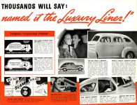 1939 DODGE Luxury Liner DODGE's SILVER ANNIVERSARY Form-403-250M-10-38- DODGE DIVISION OF CHRYSLER CORPORATION Detroit, MICH 11″x8.5″ page 12