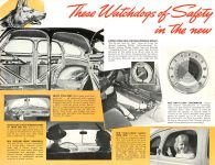 1939 DODGE Luxury Liner DODGE's SILVER ANNIVERSARY Form-403-250M-10-38- DODGE DIVISION OF CHRYSLER CORPORATION Detroit, MICH 11″x8.5″ page 13