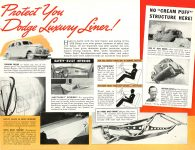 1939 DODGE Luxury Liner DODGE's SILVER ANNIVERSARY Form-403-250M-10-38- DODGE DIVISION OF CHRYSLER CORPORATION Detroit, MICH 11″x8.5″ page 14