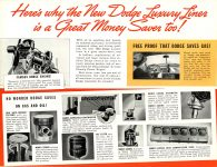 1939 DODGE Luxury Liner DODGE's SILVER ANNIVERSARY Form-403-250M-10-38- DODGE DIVISION OF CHRYSLER CORPORATION Detroit, MICH 11″x8.5″ page 15