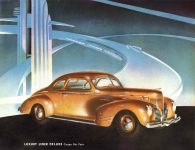1939 DODGE Luxury Liner DODGE's SILVER ANNIVERSARY Form-403-250M-10-38- DODGE DIVISION OF CHRYSLER CORPORATION Detroit, MICH 11″x8.5″ page 19