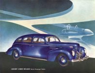 1939 DODGE Luxury Liner DODGE's SILVER ANNIVERSARY Form-403-250M-10-38- DODGE DIVISION OF CHRYSLER CORPORATION Detroit, MICH 11″x8.5″ page 20