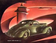 1939 DODGE Luxury Liner DODGE's SILVER ANNIVERSARY Form-403-250M-10-38- DODGE DIVISION OF CHRYSLER CORPORATION Detroit, MICH 11″x8.5″ page 23