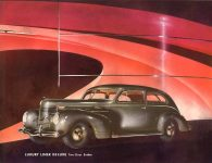 1939 DODGE Luxury Liner DODGE's SILVER ANNIVERSARY Form-403-250M-10-38- DODGE DIVISION OF CHRYSLER CORPORATION Detroit, MICH 11″x8.5″ page 24