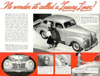 1939 DODGE Luxury Liner DODGE's SILVER ANNIVERSARY Form-403-250M-10-38- DODGE DIVISION OF CHRYSLER CORPORATION Detroit, MICH 11″x8.5″ page 4