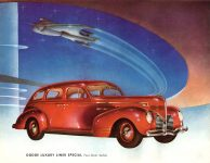 1939 DODGE Luxury Liner DODGE's SILVER ANNIVERSARY Form-403-250M-10-38- DODGE DIVISION OF CHRYSLER CORPORATION Detroit, MICH 11″x8.5″ page 5