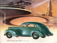 1939 DODGE Luxury Liner DODGE's SILVER ANNIVERSARY Form-403-250M-10-38- DODGE DIVISION OF CHRYSLER CORPORATION Detroit, MICH 11″x8.5″ page 6