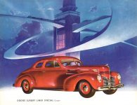 1939 DODGE Luxury Liner DODGE's SILVER ANNIVERSARY Form-403-250M-10-38- DODGE DIVISION OF CHRYSLER CORPORATION Detroit, MICH 11″x8.5″ page 7