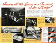 1939 DODGE Luxury Liner DODGE's SILVER ANNIVERSARY Form-403-250M-10-38- DODGE DIVISION OF CHRYSLER CORPORATION Detroit, MICH 11″x8.5″ page 8