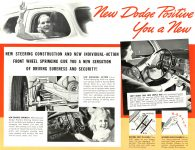 1939 DODGE Luxury Liner DODGE's SILVER ANNIVERSARY Form-403-250M-10-38- DODGE DIVISION OF CHRYSLER CORPORATION Detroit, MICH 11″x8.5″ page 9