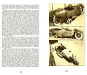 "1912 THE ""BI-AUTOGO"" Floyd Clymer's HISTORICAL MOTOR SCRAPBOOK Number 5 1948 5.5″x8.5″ pages 106 & 107"