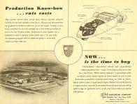1949 DAVIS Davis Motors of Texas Fort Worth, Texas Davis Motorcar Company Van Nuys, Calif Ca. 1949 11″x8.5″ Back