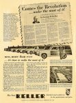 1949 2 28 Comes the Revolution … make the most of it! Now, more than ever… it's time to make the most of it! By George D. Keller The New 1948 KELLER Reprint: Automotive News February 28, 1949 10″x14″ open
