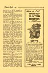 1947 3-4 The MIDGET MOTORS Directory March-April 1947 No. 18 Brand New CLINTON ENGINES MIDGET MOTORS DIRECTORY Athens, OHIO 6″x9.25″ page 19