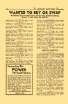 1947 3-4 The MIDGET MOTORS Directory March-April 1947 No. 18 WANTED TO BUY OR SWAP MIDGET MOTORS DIRECTORY Athens, OHIO 6″x9.25″ page 20