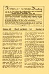 1947 3-4 The MIDGET MOTORS Directory March-April 1947 No. 18 Volume 7 Number 18 MIDGET MOTORS DIRECTORY Athens, OHIO 6″x9.25″ page 5