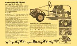 1955 ca. KING MIDGET Junior DURABLE AND DEPENABLE MIDGET MOTORS SUPPLY Athens, OHIO 16.75″x10″ Inside