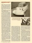 "1955 Messerschmitt KR-200 ""Red Baron, Your Car's Ready"" By Tim Howley (photos by author) Special Interest Autos #76 August 1983 page 46"