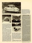 "1955 Messerschmitt KR-200 ""Red Baron, Your Car's Ready"" By Tim Howley (photos by author) Special Interest Autos #76 August 1983 page 47"