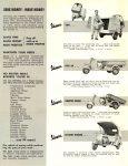 ca. 1956 VESPA Commercial SAVE MONEY – MAKE MONEY VAN, PICK UP, DUMPER MODEL, STATION WAGON… VESPA DISTRIBUTING CORP. NEW YORK 17, New York 8.5″x11″ Back