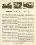 1951 ca. SKORPION The New American Sports Car (Build It Yourself) Ca. 1951 The Wilco Company Pasadena 3, California 8.5″x11″ Back