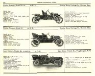 1910 MoToR'S Steam page 120 1910 STANLEY STANLEY LANE MoToR's 1910 MoToR CAR DIRECToRY Published By MoToR, New York 10″x7.25″ page 120