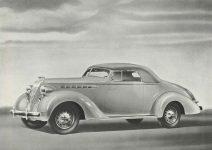 1936 TERRAPLANE TERRAPLANE Convertible HUDSON MOTOR CAR COMPANY Detroit, MICH 11″x7.75″ page 12