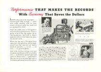 1936 TERRAPLANE Performance Economy HUDSON MOTOR CAR COMPANY Detroit, MICH 11″x7.75″ page 13