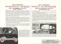 1936 TERRAPLANE Hydraulic Brakes Draft Eliminator HUDSON MOTOR CAR COMPANY Detroit, MICH 11″x7.75″ page 9