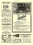 1909 9 28 DETROIT Electric Dependable and Durable ANDERSON CARRIAGE COMPANY Detroit, MICH MOTOR AGE September 28, 1909 8″x12″ page 79