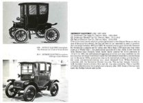 1909 DETROIT ELECTRIC brougham (1) Anderson Carriage Co Detroit, MICH 1907-1910 (2) Anderson Electric Car Co Detroit, MICH 1911-1918 (3) Detroit Electric Car Co Detroit, MICH 1919-1938 THE NEW ENCYLOPEDIA OF MOTORCARS 1885 to the Present Edited by G. N. Georgano E. P. Dutton New York 1982 ISBN: 0-525-93254-2 8.25″x11″ page 196