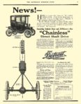 "1910 11 19 DETROIT Electric News! ""Chainless"" Anderson Carriage Company Detroit, MICH THE SATURDAY EVENING POST November 19, 1910 10.5″x14″ page 43"