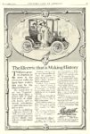 1910 12 DETROIT Electric The Electric that is Making History Anderson Carriage Co. Detroit, MICH COUNTRY LIFE IN AMERICA December 1910 9.25″x14.25″ page ciii