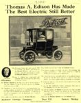 1910 7 21 DETROIT Electric Thomas A. Edison Has Made Anderson Carriage Company Detroit, MICH LIFE July 21, 1910 8.25″x10.5″